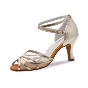 Anna Kern - Damen Tanzschuhe 740-60 - Leder Gold