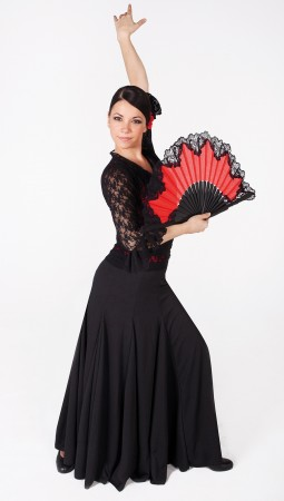 Intermezzo - Damen Flamenco Rock/Tanz Rock 7718 Faldatamgo