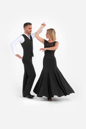 Intermezzo - Ladies Dance Skirt/Ballroom Skirt long 7938 Falstanpum