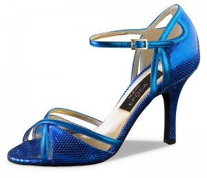 Nueva Epoca - Ladies Dance Shoes Angeles - Leather Blue