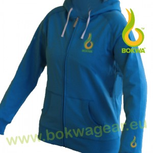 Bokwa® - Trainer Fleece Hoodie II - Blau | Final Sale