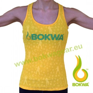 Bokwa® - Buyani Graphic Rib Tank II - Sunburst