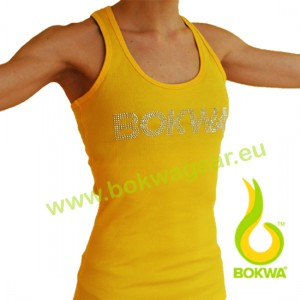 Bokwa® - Buyani Rhinestone Rib Tank II - Sunburst