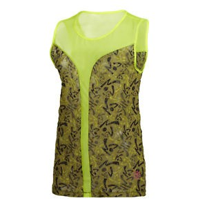 Zumba® - Be Free Sleeveless Top - Yellow | Final Sale