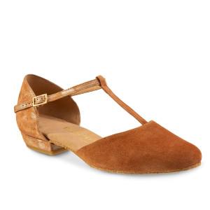 Rummos Mulheres Sapatos de Dança Carol - Castanho - 2 cm