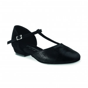 Rummos Femmes Chaussures de Danse Carol - Noir - 2 cm