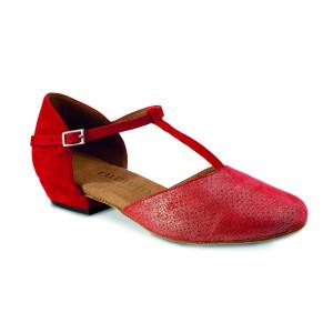 Rummos Mulheres Sapatos de Dança Carol - Vermelho - 2 cm