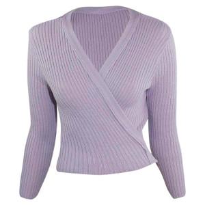 Intermezzo - Ladies Ballet Wrap Cardigan long sleeves 6811 Jersey Elipor