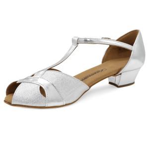 Diamant - Niñas Zapatos de Baile 031-030-045 - Plateado