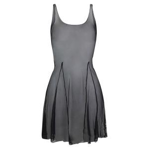 Intermezzo - Ladies Dance dress/Ballet dress aus Mesh with straps narrow 8018 Vesred
