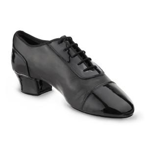 Rummos Hombres Latino Zapatos de Baile Triumph - Negro - 4,5 cm