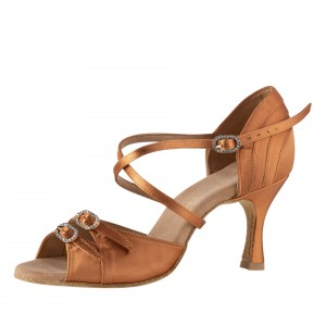 Rummos Mujeres Latino Zapatos de Baile Elite Diana 048 mit Strass-Spange