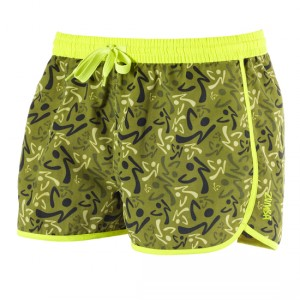 Zumba® - Escape Running Shorts - Soldier | Final Sale