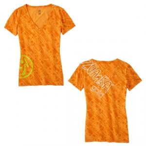 Zumba® Gold - Feel the Thrill V-Neck | Final Sale