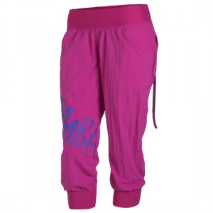 Zumba® - Feelin it Cargo Capri - Mulberry | Final Sale