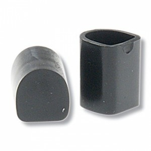 Diamant - Protectores de Tacón Slim [Negro | 1 Par]