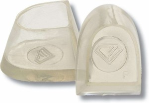 Diamant - Heel Protectors Flare [Transparent | 1 Pair]