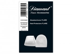 Diamant - Heel Protectors Flare 2020 [Transparent | 1 Pair]