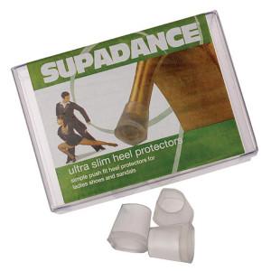 Supadance - Protectores de Tacón Ultra Slim [Transparente | 1 Par]