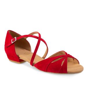 Rummos Damen Tanzschuhe Lola - Rot - 2 cm