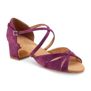 Rummos Ladies Dance Shoes Lola - Burgundy - 2 cm
