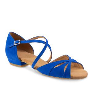 Rummos Damen Tanzschuhe Lola - Blau - 2 cm
