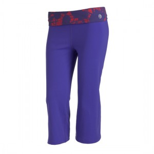 Zumba® - Let Loose Flare Capri - Amethyst | Final Sale