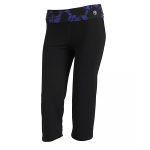 Zumba® - Let Loose Flare Capri - Schwarz | Final Sale