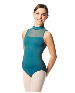 LULLI Dancewear Mädchen Ballett Leotard/Body Klara mit Stehkragen