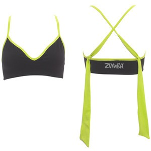 Zumba® - Marvelous Seamless Bra - Schwarz/Lime | Final Sale