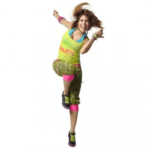 Zumba® - Party Instructor Spaghetti Tank - Zumba Green [Extra Small]
