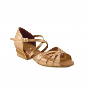 Rummos Ni%ntilde;as Zapatos de Baile R150 - Tan - 3,5 cm