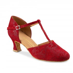 Rummos Ladies Dance Shoes R312 - NehruRed - 5 cm
