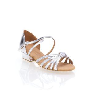 Rummos Ni%ntilde;as Zapatos de Baile R319 - Plateado - 3,5 cm