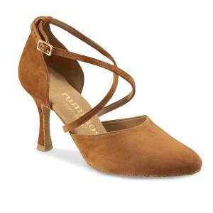 Rummos Femmes Chaussures de Danse R329 - Marron - 7 cm