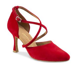 Rummos Mulheres Sapatos de Dança R329 - Vermelho - 7 cm