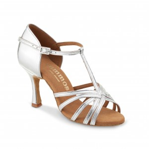 Rummos Ladies Dance Shoes R331 - Silver - 7 cm