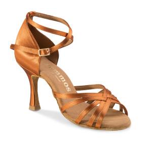 Rummos Ladies Dance Shoes R332 - Dark Tan - 7 cm