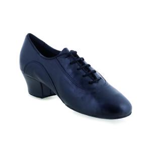 Rummos Hombres Latino Zapatos de Baile R342 - Negro - 4,5 cm