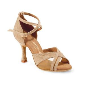 Rummos Ladies Dance Shoes R370 - NehruTan - 7 cm
