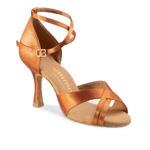 Rummos Mulheres Sapatos de Dança R370 - Dark Tan - 7 cm