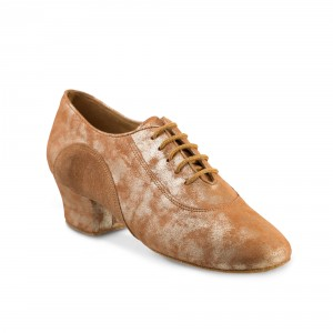 Rummos Ladies Practice Shoes R377 -  Tan Cuarzo/LigBrown