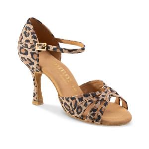 Rummos Mulheres Sapatos de Dança R383 - Leopardo - 7 cm
