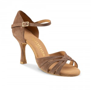 Rummos Ladies Dance Shoes R383 - Taupe - 7 cm