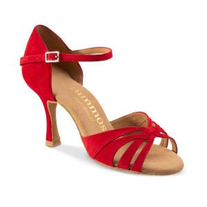 Rummos Mulheres Sapatos de Dança R383 - Vermelho - 7 cm