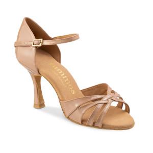 Rummos Mulheres Sapatos de Dança R383 - Nude - 7 cm
