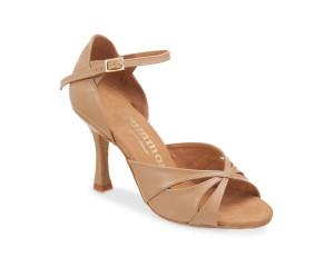 Rummos Mulheres Sapatos de Dança R385 - Bege - 7 cm