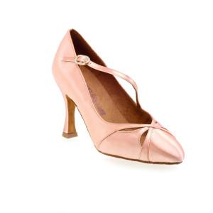 Rummos Ladies Ballrom Dance Shoes R397 - Flesh - 6 cm