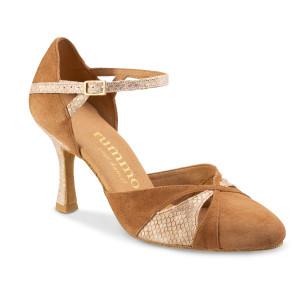 Rummos Mulheres Sapatos de Dança R405 - Castanho - 7 cm