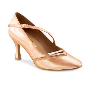 Rummos Ladies Ballrom Dance Shoes R490 - Flesh - 6 cm